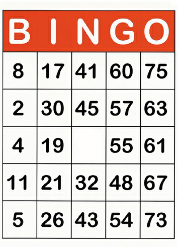 Favoriete Extreem Bingo Spelen In De Klas JR41 | Belbin.Info NN39